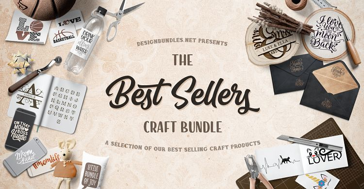Best Sellers Craft Bundle Design Bundles