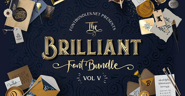The Brilliant Font Bundle V