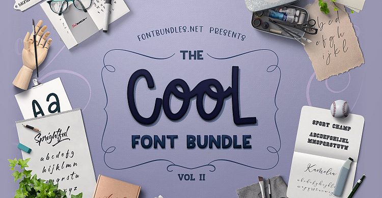 The Cool Font Bundle II
