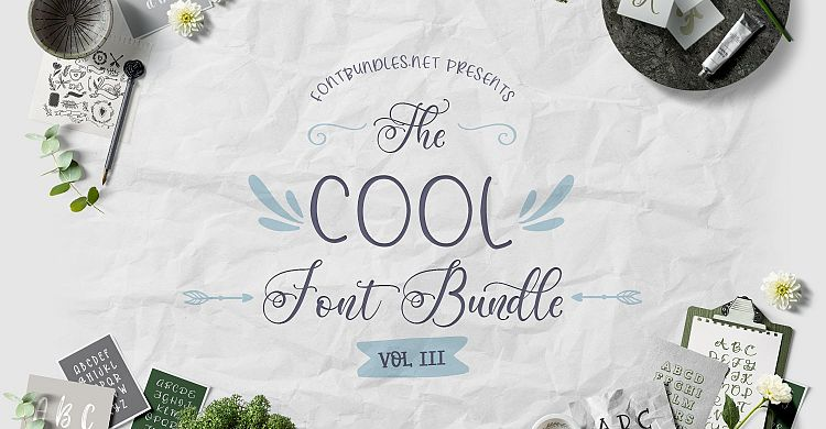 The Cool Font Bundle III