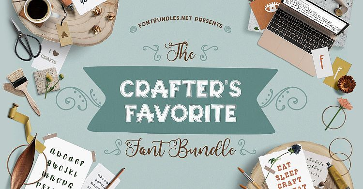 The Crafter's Favorite Font Bundle