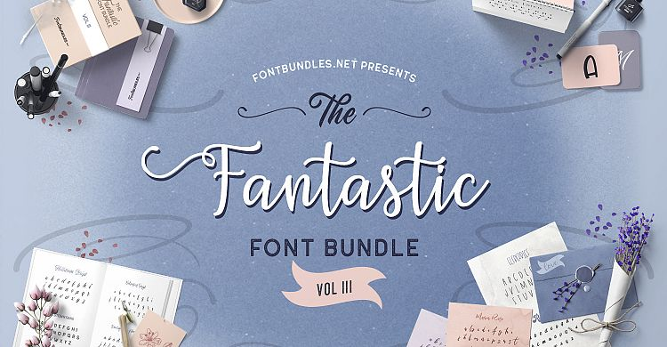 The Fantastic Font Bundle III