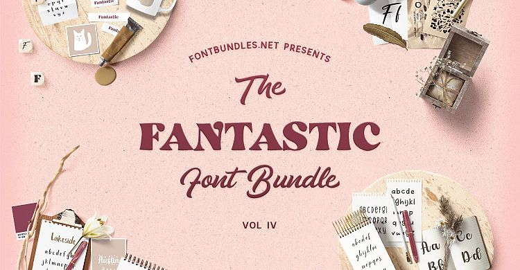 The Fantastic Font Bundle IV