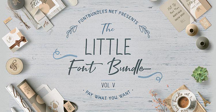 The Little Font Bundle Vol V