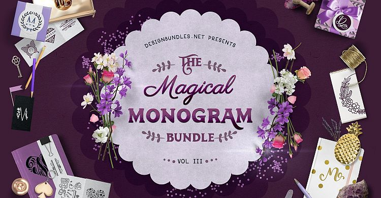 The Magical Monogram Bundle III