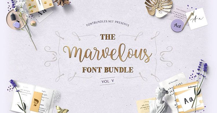 The Marvelous Font Bundle V