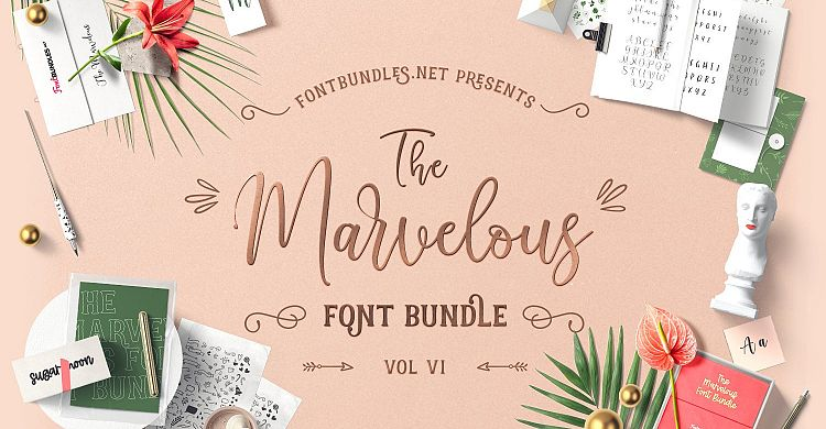The Marvelous Font Bundle VI