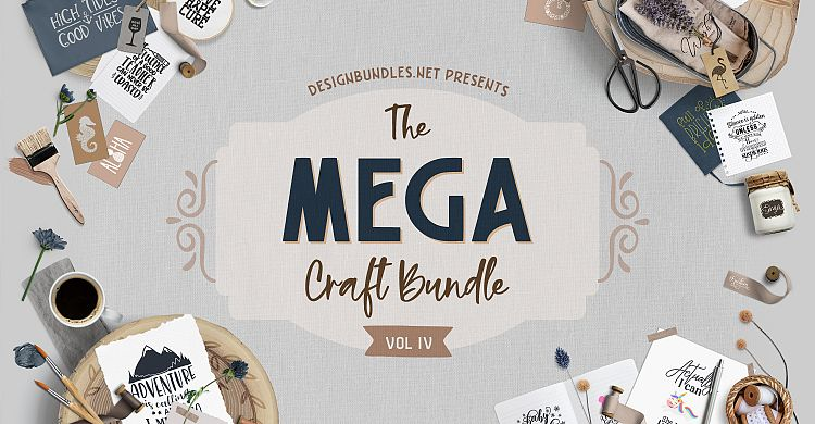the mega craft bundle iv