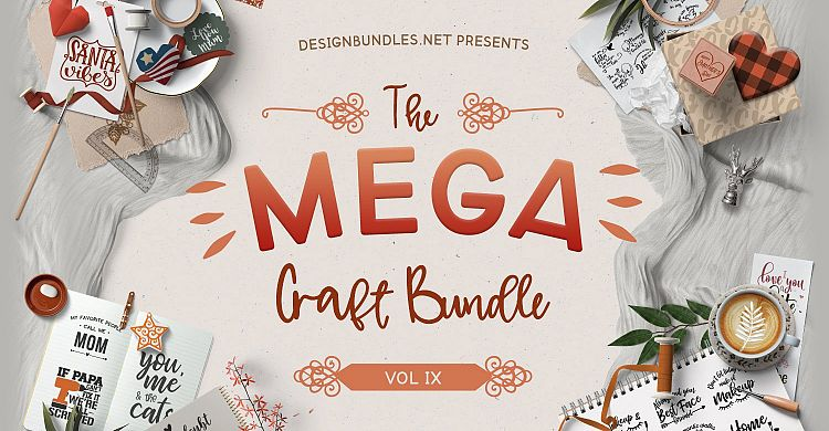 The Mega Craft Bundle IX