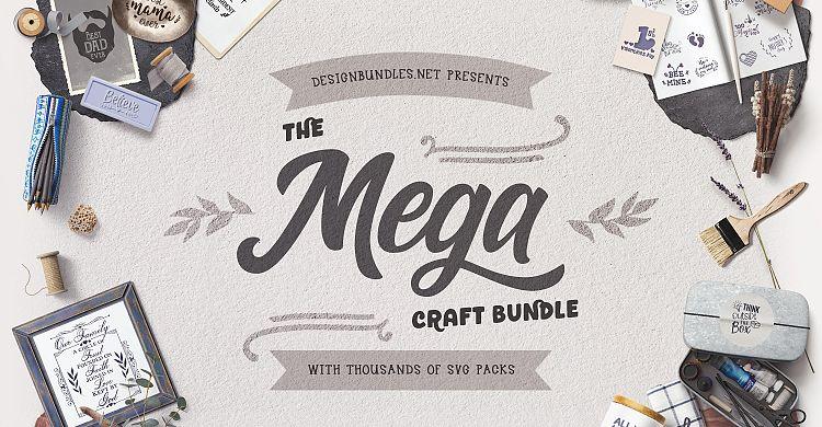 The Mega Craft Bundle Design Bundles
