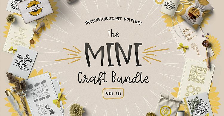 The Mini Craft Bundle III