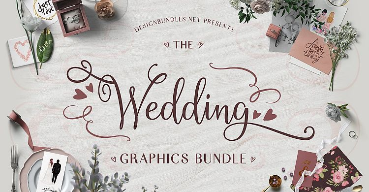 The Wedding Graphics Bundle