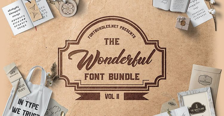 The Wonderful Font Bundle II