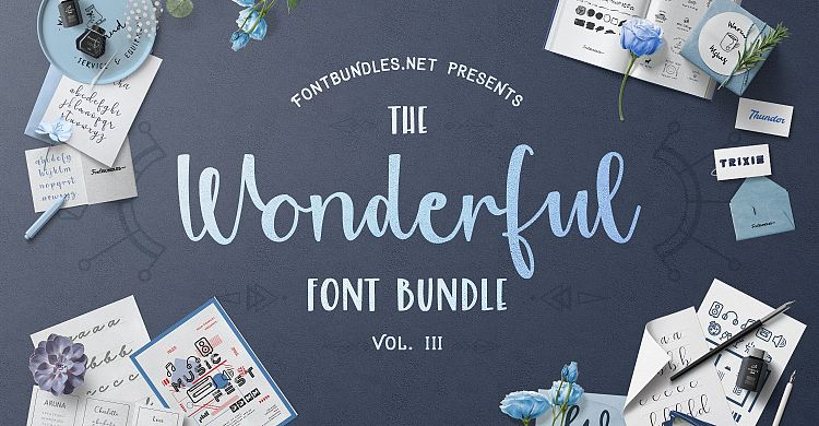The Wonderful Font Bundle III