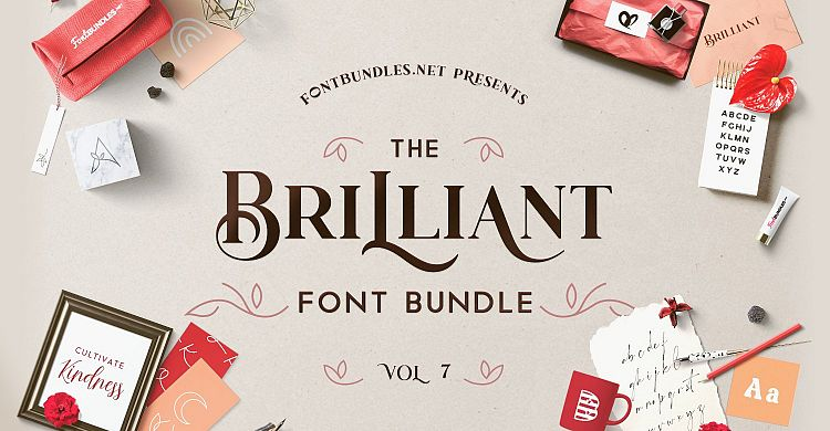 The Brilliant Font Bundle Volume 7