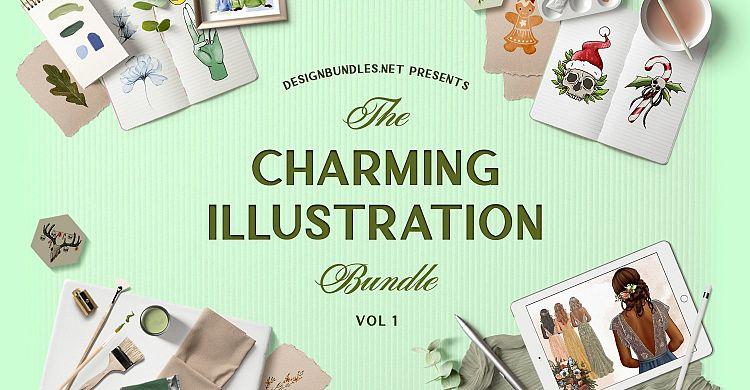 The Charming Illustration Bundle 1