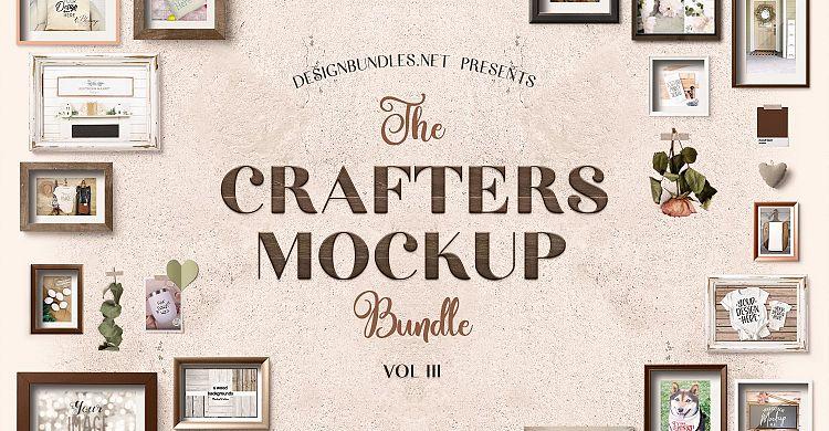 The Crafters Mock Up Bundle III