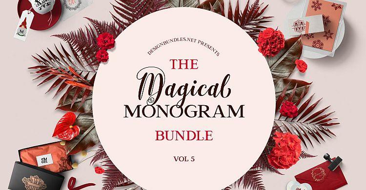 The Magical Monogram Bundle 5