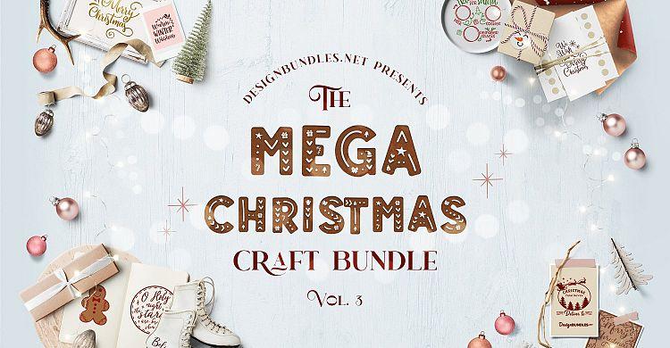 The Mega Christmas Craft Bundle 3