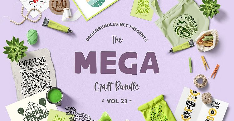 The Mega Craft Bundle Volume 23