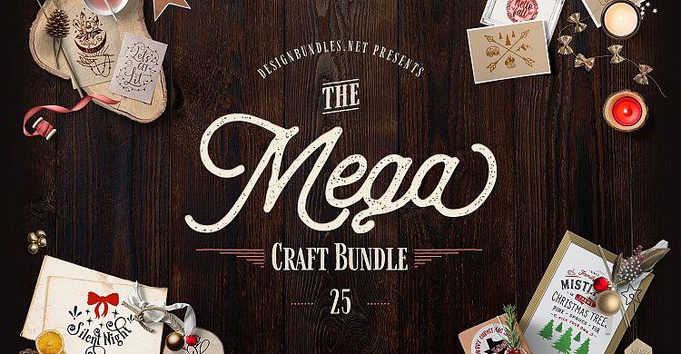 The Mega Craft Bundle 25