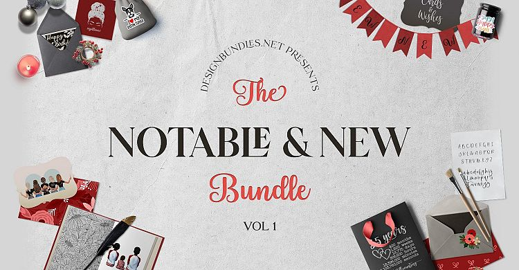The Notable & New Bundle 1