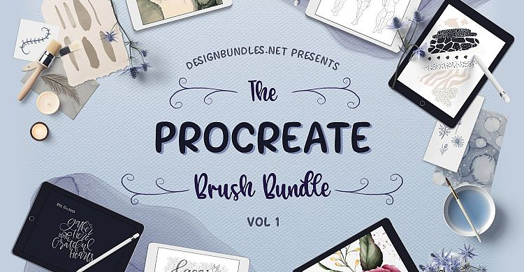 The Procreate Brush Bundle 1