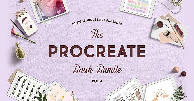 The Procreate Brush Bundle 4
