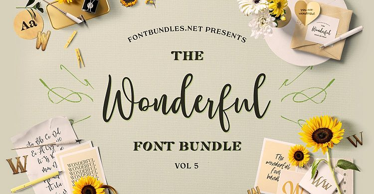 The Wonderful Font Bundle 5