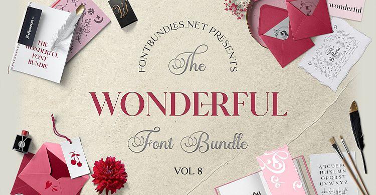 The Wonderful Font Bundle