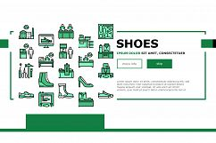 Shoes Repair Service Landing Header Vector Product Image 1
