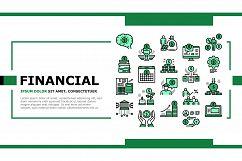 Financial Education Landing Header Vector Product Image 1