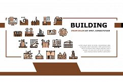 Building Construction Landing Header Vector Product Image 1