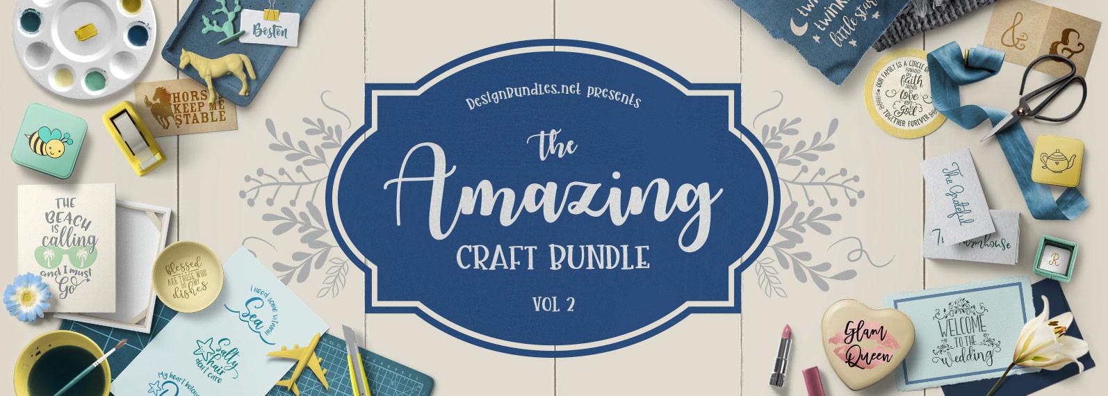 The Amazing Craft Bundle II Cover