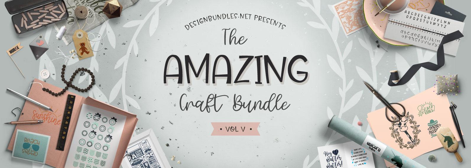 The Amazing Craft Bundle V Cover