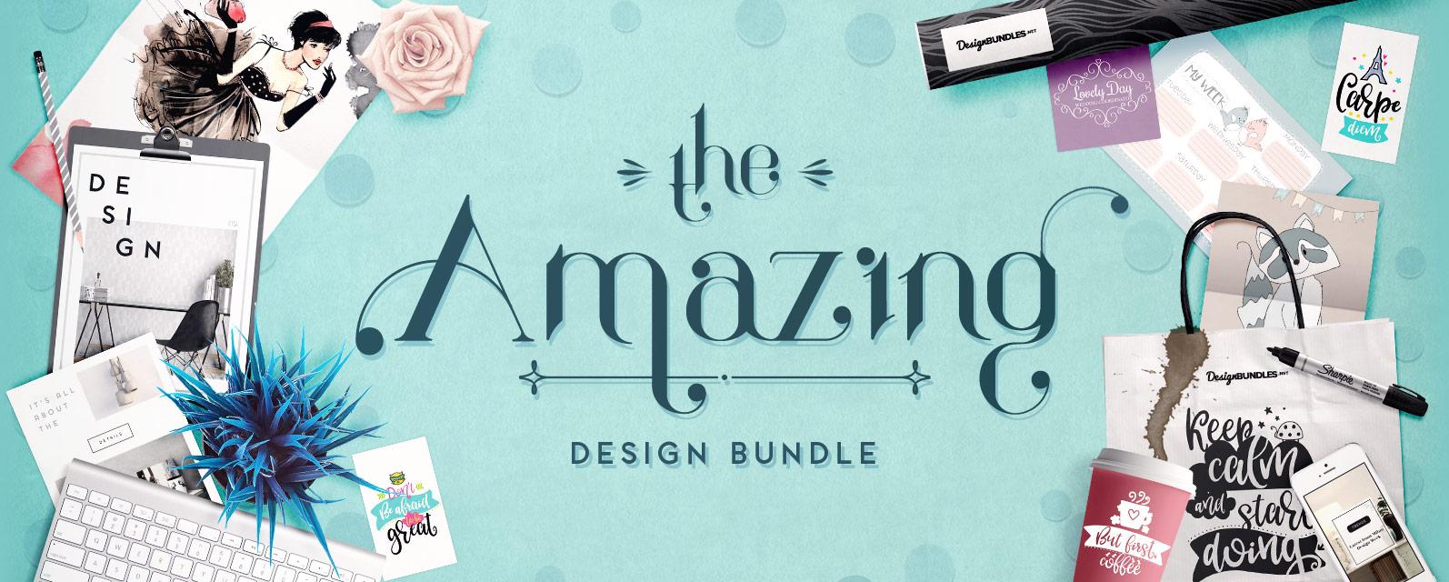 The Amazing Design Bundle Cover
