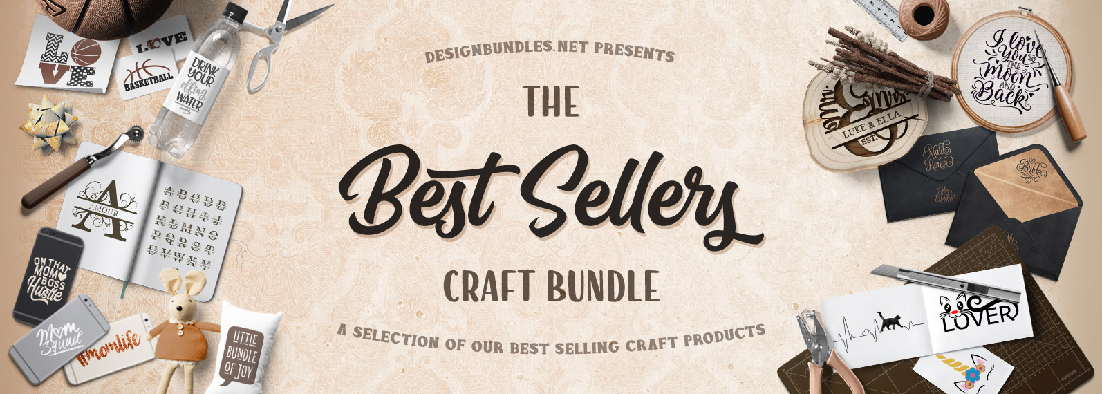 The Best Seller Craft Bundle Cover