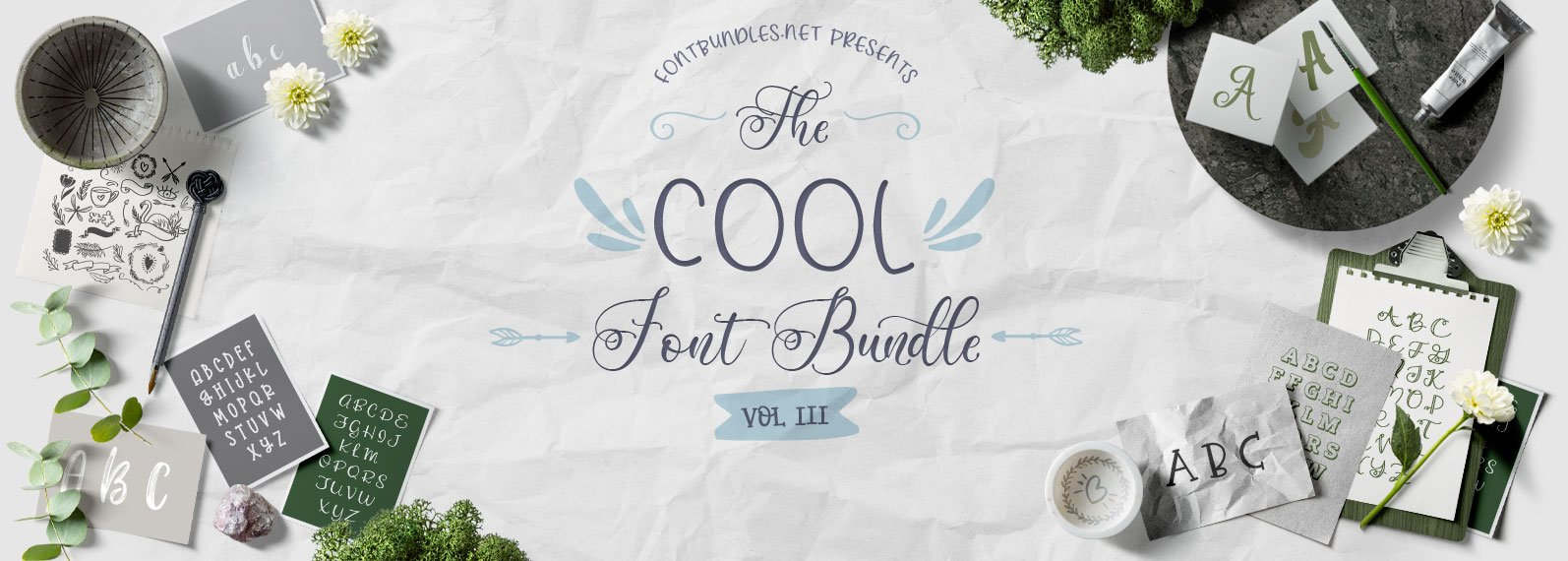 The Cool Font Bundle III Cover