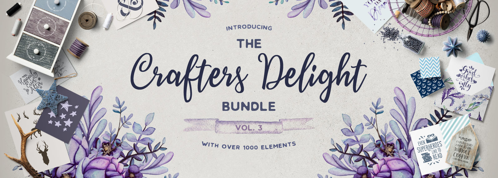 The Crafters Delight Bundle Volume III Cover