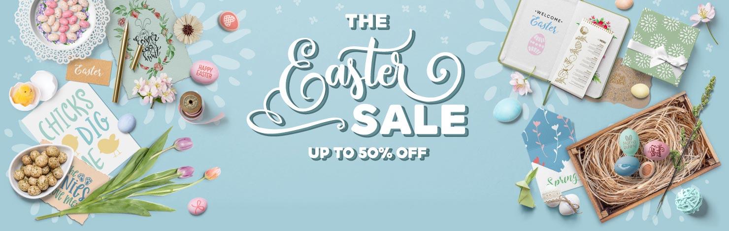 Easter Sale 2019 - Design Bundles
