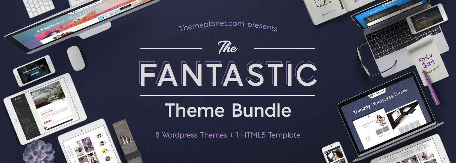 The Fantastic Theme Bundle Cover