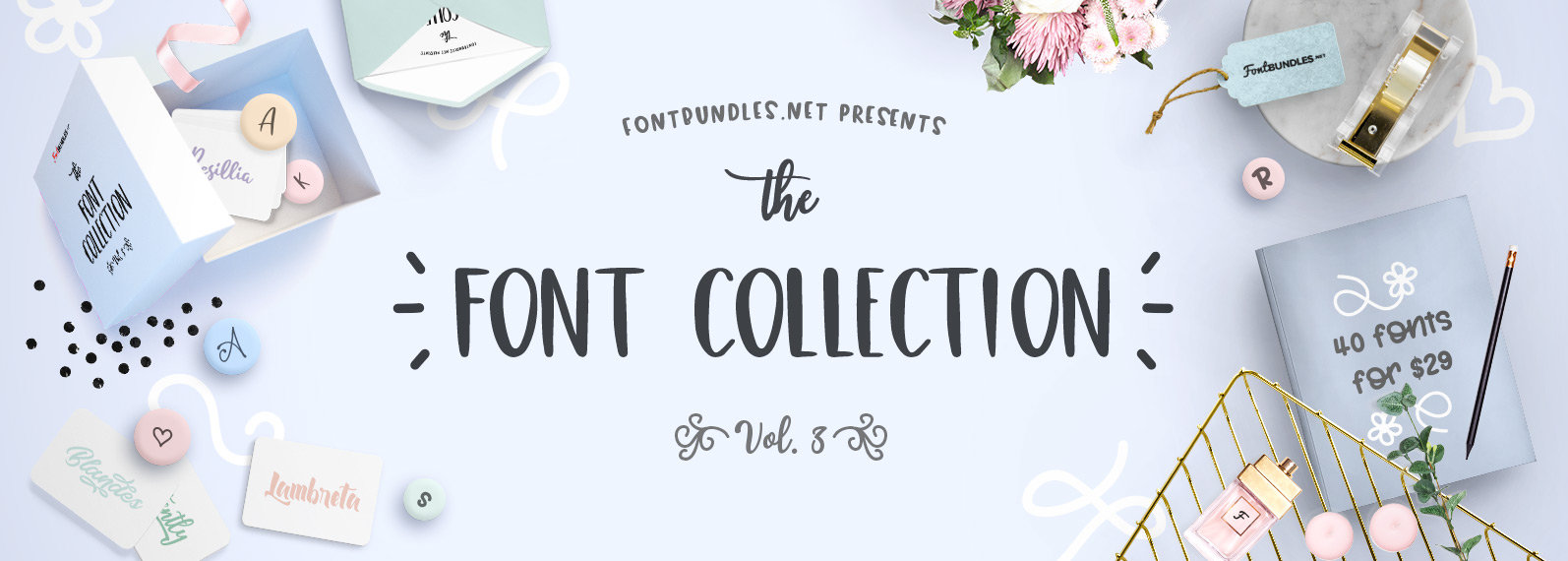 The Font Collection Volume III Cover