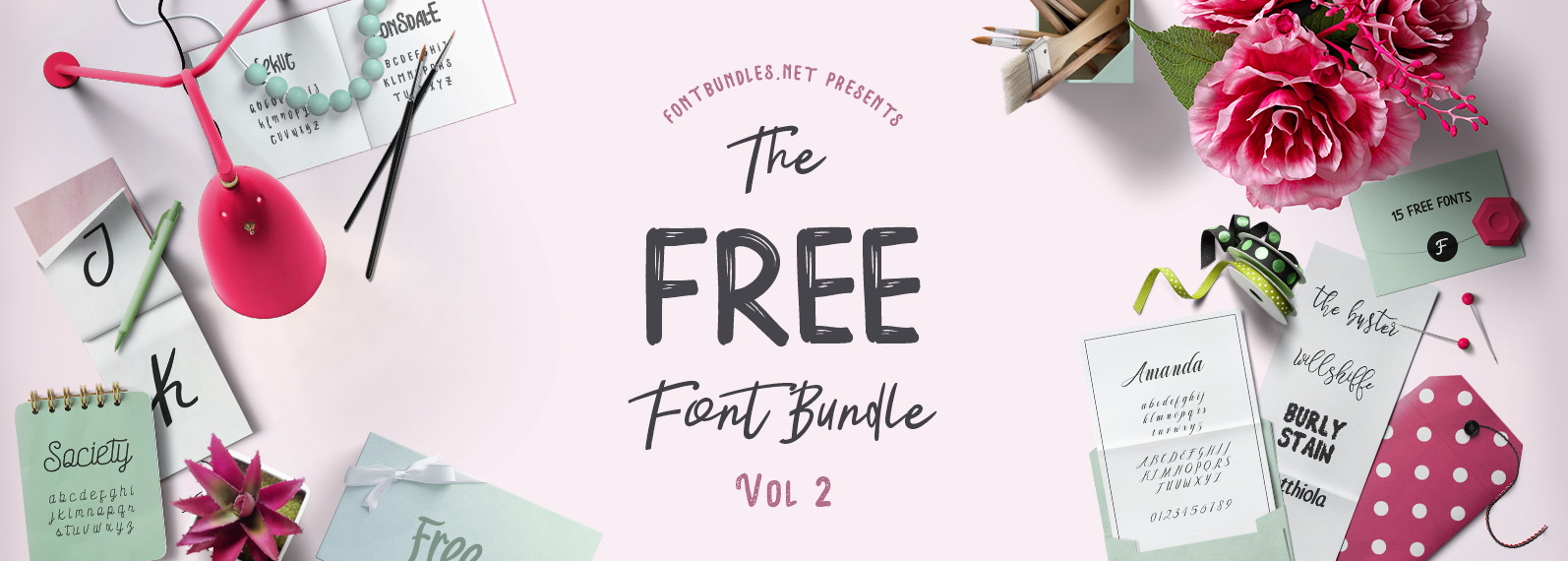 Download The Free Font Bundle Vol II | Font Bundles
