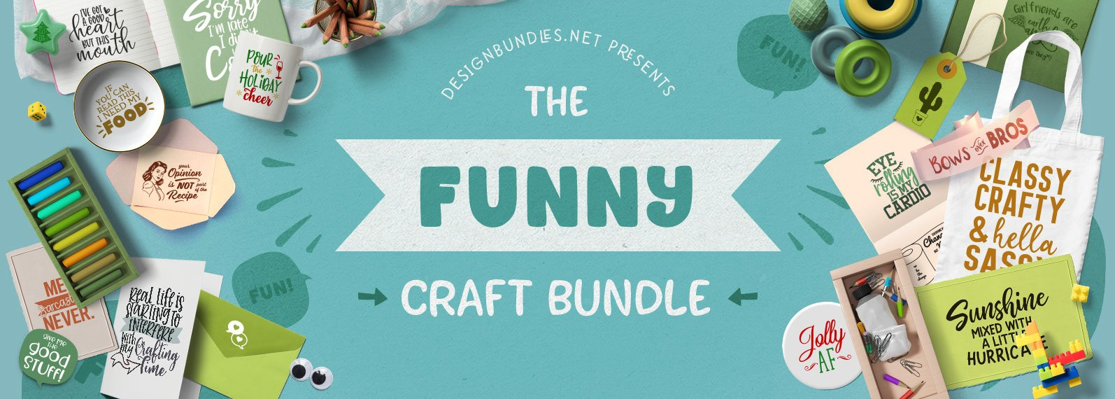 The Funny Craft Bundle Cover