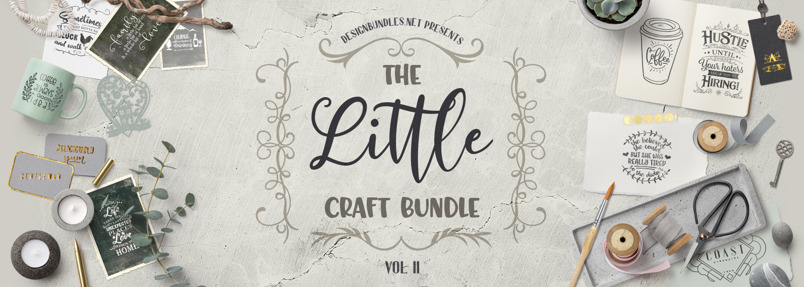 The Little Craft Bundle II Cover