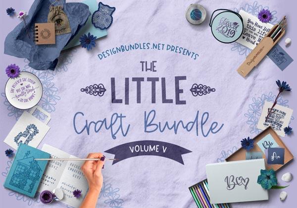 The Little Craft Bundle V Cover