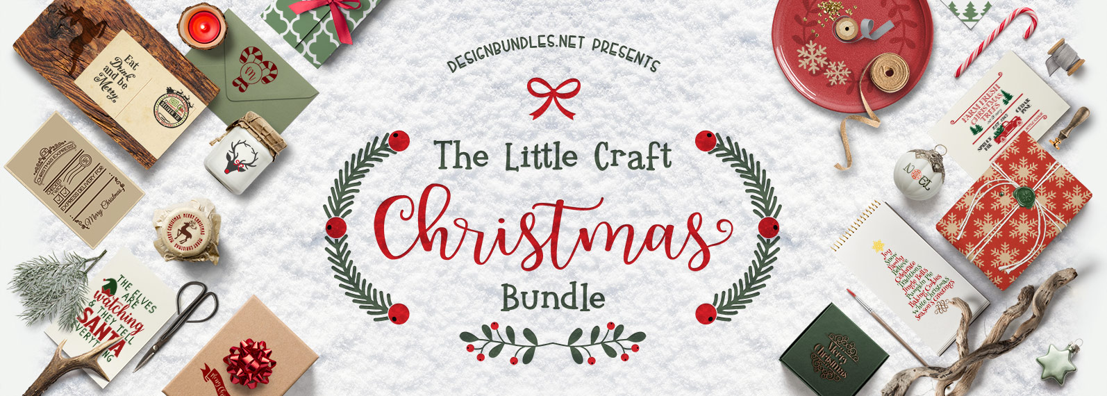The Little Craft Christmas Bundle  Cover