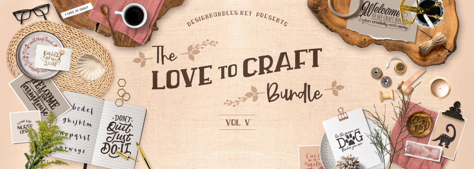 Love To Craft Bundle V Cover