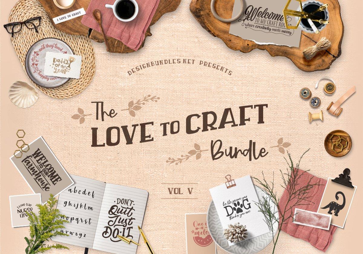 Love To Craft Bundle V Cover