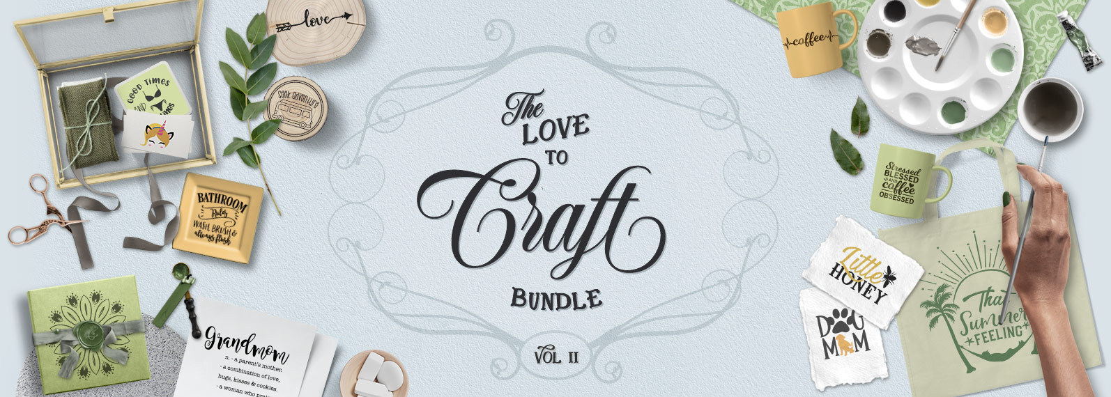 Love to Craft Volume II Cover